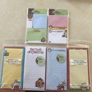 Mary Engelbreit Christmas pads.